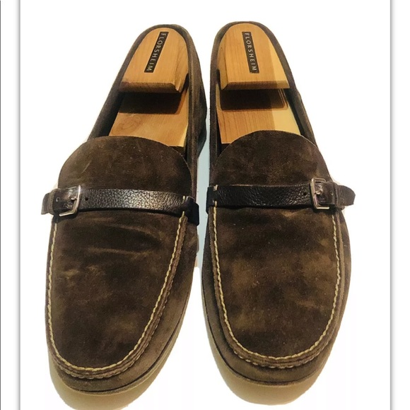 Hermes Other - Hermes Brown Suede Loafers Slip On Shoes